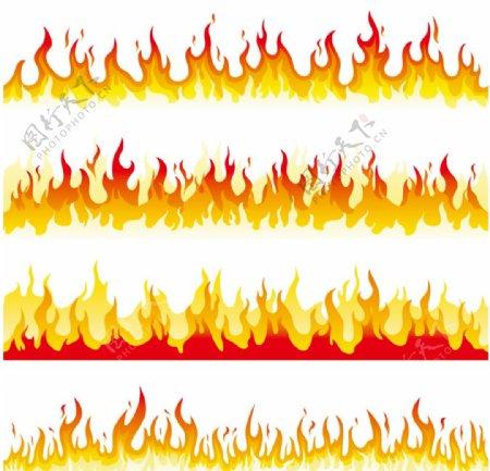 火苗边框图片