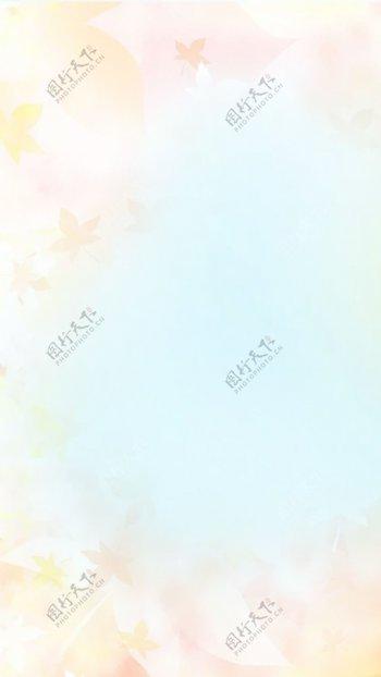 黄色梦幻背景图片