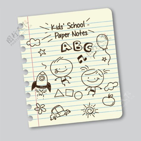 儿童卡通插画图片