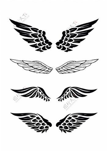 黑色翅膀4图片