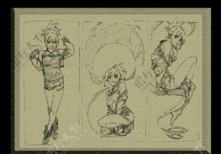 漫画人物卡通图片