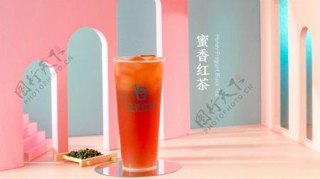 蜜香红茶纯茶饮料图片