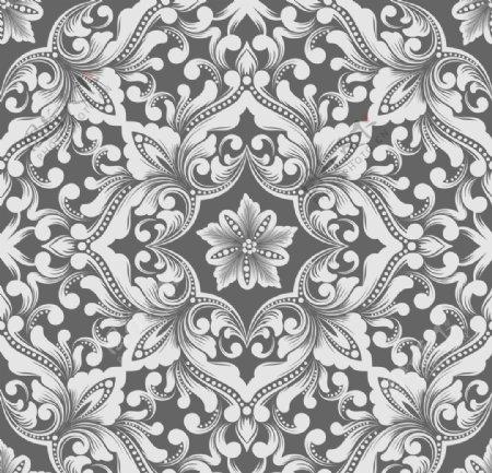 花纹图案无缝印花图片
