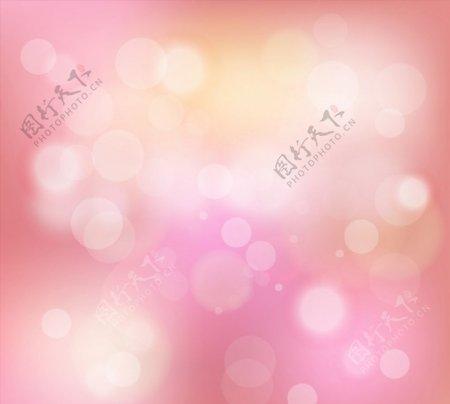 粉色光晕梦幻背景图片