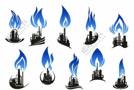 石油炼制工业标志图片
