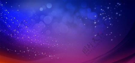 绚丽紫色背景图片