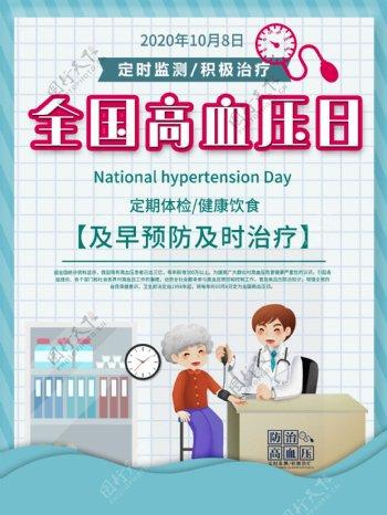 高血压海报图片