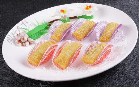 豫菜飘香榴莲酥图片