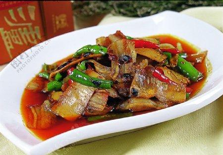 豫菜竹笋小炒肉图片