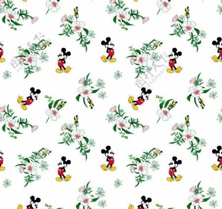 米老鼠米奇花图片