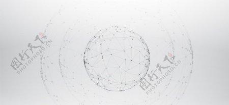 抽象科技感地球图片