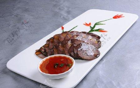 私房酱牛肉图片