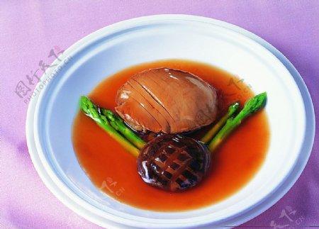淮扬菜香菇烩芦笋图片