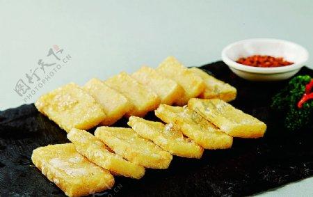 浙菜香煎豌豆粉图片