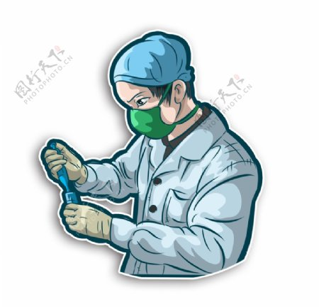 疫苗研究疫情实验抗击疫情医生医图片