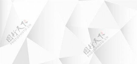 白色不规则几何高清背景图片