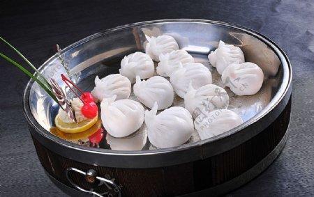 招财玉兔虾饺图片
