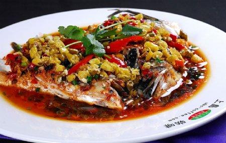 上海私房菜剁椒鱼头王图片