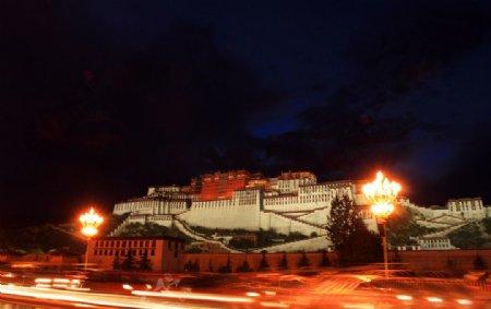 布达拉宫图片