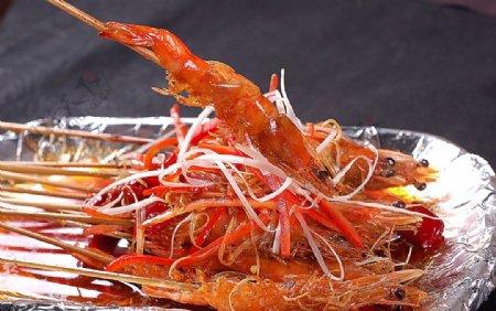 铁板私房虾图片