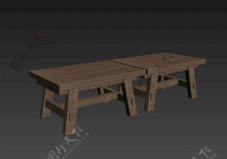 板凳3d模型图片