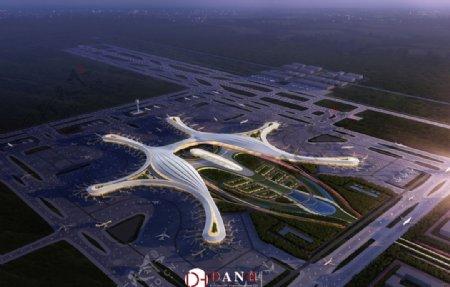 四川天府机场效果图图片