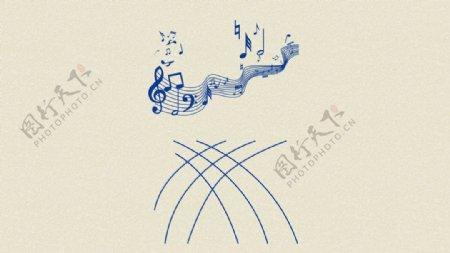音符音乐图片