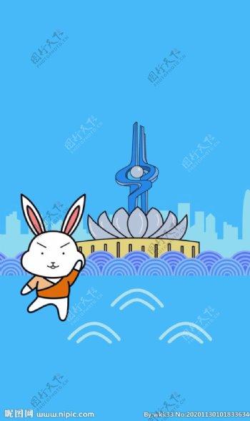 泉城广场图片
