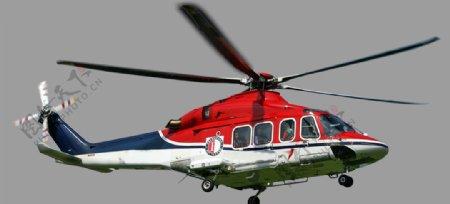 飞机直升机红色飞机透明底图片