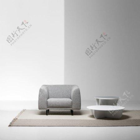 浅灰色墙纸图片