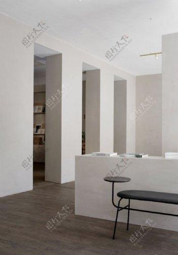 米灰色墙面图片