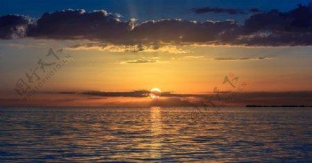 日落壁纸图片