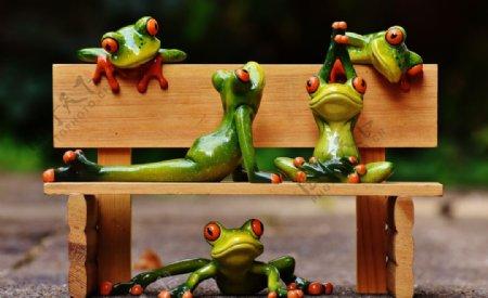青蛙玩具图片