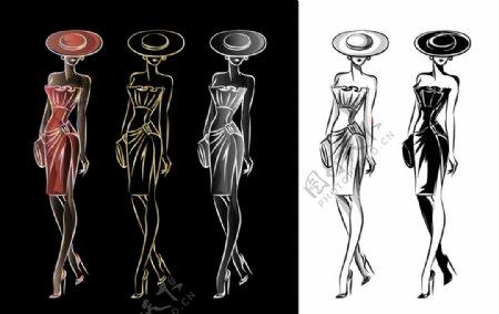 女性服装设计图片