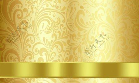 金色名片图片