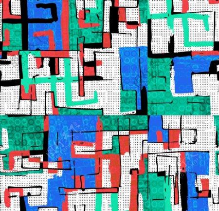 线条涂鸦抽象图案背景底纹图片