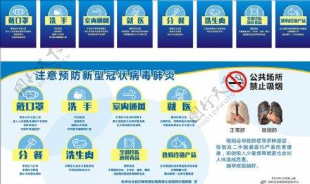 注意预防新型冠状病毒肺炎图片