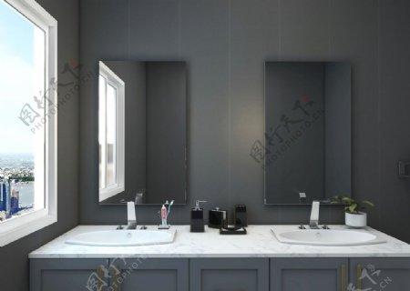 简约卫生间图片