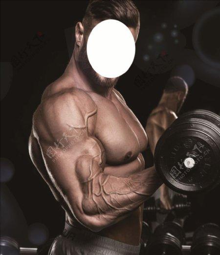 健身男人图片