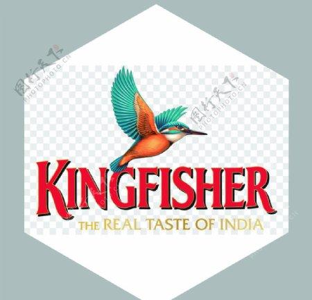 经典翠鸟啤酒logo图片