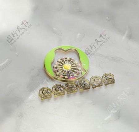 榴莲摩天轮图片