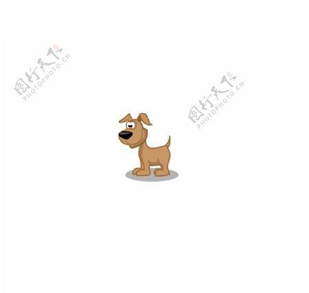 卡通小狗图片