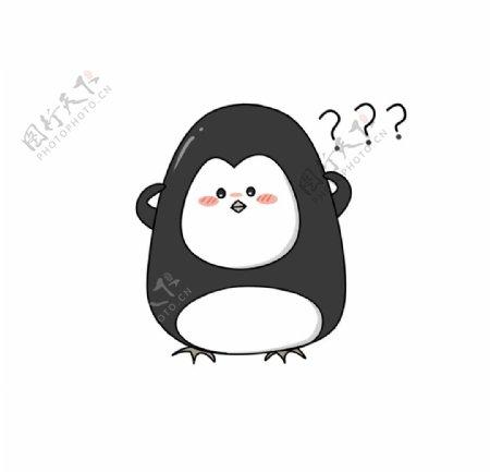 企鹅简笔画图片