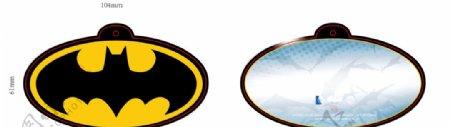 蝙蝠侠吊牌超人吊牌蝙蝠图片