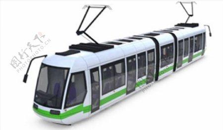 C4D模型动车火车高铁图片
