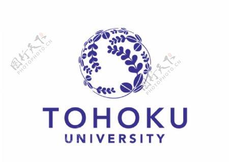 日本东北大学校徽LOGO图片