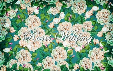 玫瑰花的婚礼图片