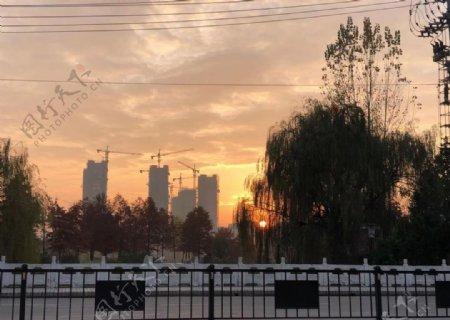 金寨的日出图片
