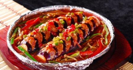 红烧茄子图片