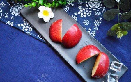 唯美苹果拍摄素材图片